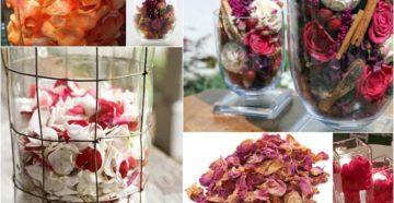 Лепестки роз: как можно использовать