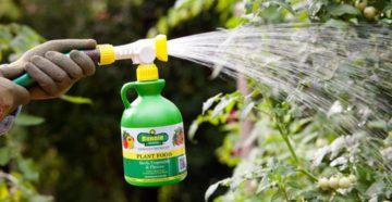 Жидкие удобрения: какие бывают и как использовать