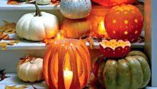 Нарядная тыква: украшаем дом к празднику