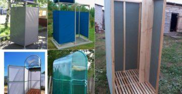 Как мыться на даче: сооружаем бассейн и летний душ