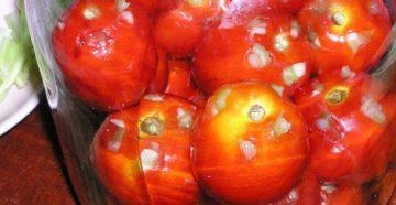 Способ сухой засолки помидоров